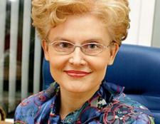 Дієта Олени Малишевої