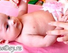 Як робити масаж новонародженому