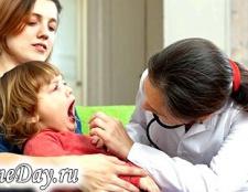 Як лікувати ангіну у дітей