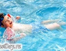 Навчання дітей плаванню: основні моменти