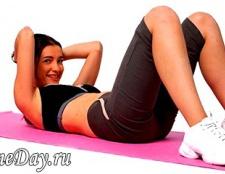 Вправи для живота після пологів