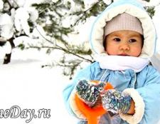 Зимові прогулянки з дитиною: що потрібно знати?